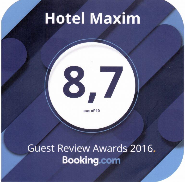 hotel booking awards 2016